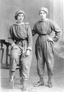Female workers at Short Brothers about 1918 [Z50/142/461]